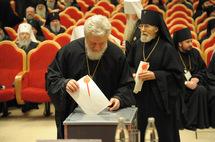 Répartition détaillée des voix au concile épiscopal