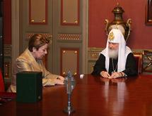 Le patriarche Cyrille a reçu la représentante permanente de la Fédération de Russie auprès de l'UNESCO