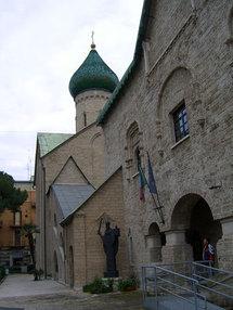 Le pape Benoît XVI a adressé un message à l'occasion de la restitution de l'église russe de Bari
