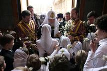 """Patriarche Cyrille: """"Le salut de l'homme s'accomplit dans l'Eglise par la force de la grâce de Dieu"""""""
