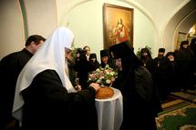 Le patriarche Cyrille en visite à Saint-Pétersbourg