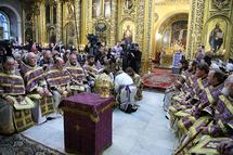 Le patriarche Cyrille rétablit le rite du lavement des pieds