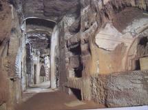 Mgr Hilarion a célébré une liturgie orthodoxe dans les catacombes de Saint-Calliste à Rome