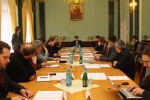Rencontre des responsables de communication du patriarcat de Moscou