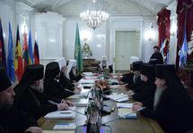 Le Synode se réunit pour la deuxième fois à Saint-Pétersbourg