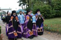 Anniversaire de l'église du cimetière russe de Sainte-Geneviève-des-Bois
