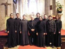 Les séminaristes russes se sont rendus dans le diocèse de Pontoise