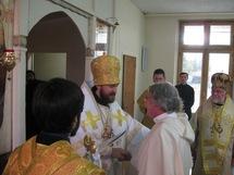 Le père Nicolas-Jean Sed décoré de l'ordre de Saint Serge de Radonège