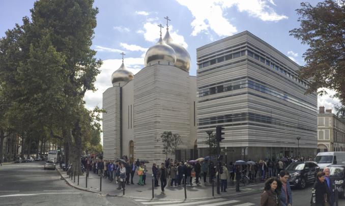 Le Centre spirituel et culturel russe a pour la première fois participé aux Journées du patrimoine