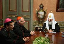 Discours du cardinal Jean-Pierre Ricard au patriarche Cyrille de Moscou