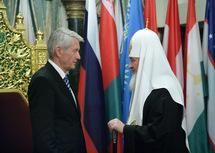 Le patriarche Cyrille a reçu le secrétaire général du Conseil de l'Europe