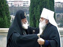 Une délégation du patriarcat de Moscou en visite en Géorgie