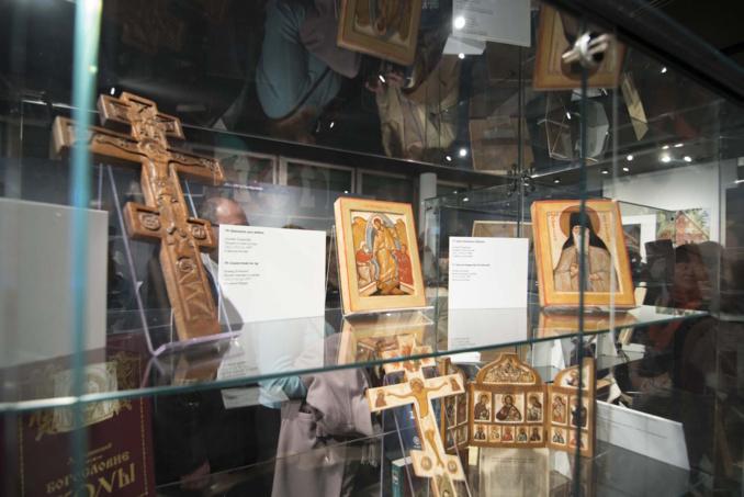 L'exposition d'icônes du célèbre théologien et icônographe Léonide Ouspensky vient de débuter au Centre Culturel et Spirituel à Paris.
