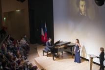 Un récital « La Vie du Poète » dédié à Alexandre Pouchkine a été donné au Centre spirituel et culturel russe à Paris