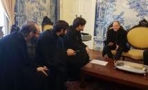 Visite pastorale de Monseigneur Nestor au Portugal