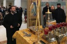 Le chef de l'Archevêché autonome d'Okhrid a visité le Centre spirituel et culturel russe