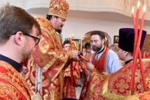 L'évêque Nestor a présidé une Divine Liturgie à Zurich