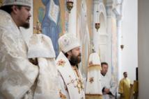 Le métropolite Hilarion présida la Divine Liturgie en la cathédrale de la Sainte-Trinité à Paris