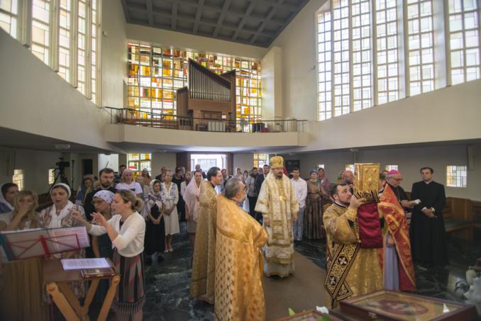 Une première liturgie épiscopale orthodoxe vient d'être célébrée dans la Principauté de Monaco