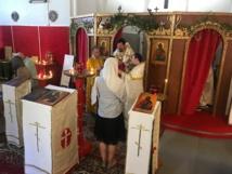 Fête onomastique de la paroisse saint Jean le Précurseur à Perpignan