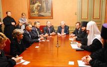 Le patriarche de Moscou a reçu le directeur général de l'UNESCO