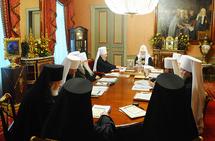 Réunion du Saint-Synode de l'Eglise orthodoxe russe