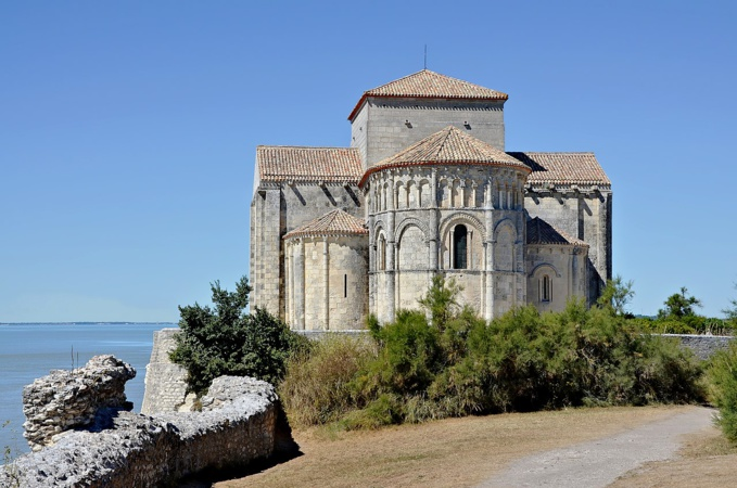 Annonce: Divine liturgie sera célébrée en l'église de la sainte Radegonde à Talmont-sur-Gironde (Charente-Maritime)