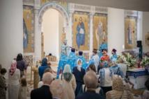 Homélie prononcée par Monseigneur Nestor à la cathédrale de la Sainte Trinité le jour de la Dormition de la Très Sainte Mère de Dieu