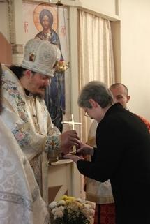 Le séminaire russe en France reçoit en don un reliquaire avec l'épine de la Sainte Couronne du Seigneur