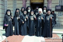 Un métropolite russe à la dédicace de la nouvelle cathédrale de la métropole de Kykkos à Chypre