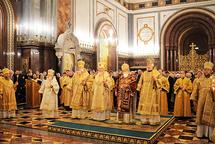Les primats des Eglises de Géorgie, de Pologne, de Tchéquie et de Slovaquie en visite au patriarcat de Moscou
