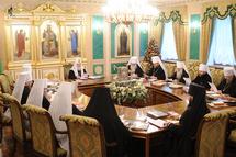 Le Saint-Synode du patriarcat de Moscou se réunit en session d'hiver
