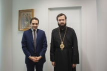 Le métropolite Antoine a rencontré le chef du Bureau central des cultes