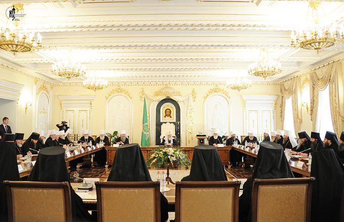 Consultation à Moscou de l'épiscopat des nouvelles métropoles de l'Eglise orthodoxe russe