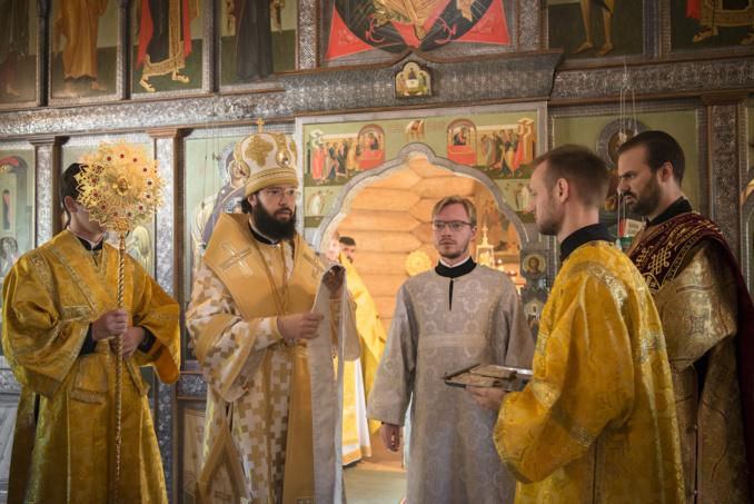 Le moine Denis (Volkov) a été ordonné hiérodiacre