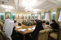 Le Saint-Synode de l'Eglise orthodoxe russe se réunit en première session de cette année