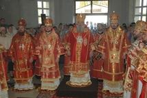 Visite de l'évêque Nestor de Chersonèse en Moldavie