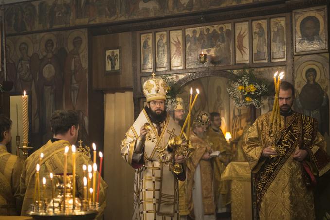La fête patronale de l'église cathédrale des Trois-Saints-Docteurs à Paris