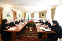 La session du Saint-Synode de l'Eglise orthodoxe russe s'est tenue à Kiev