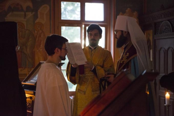 Un des formateurs du Séminaire a reçu la tonsure monastique