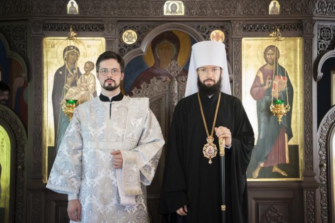 Le moine Irénée (Gribov) a été ordonné hiérodiacre