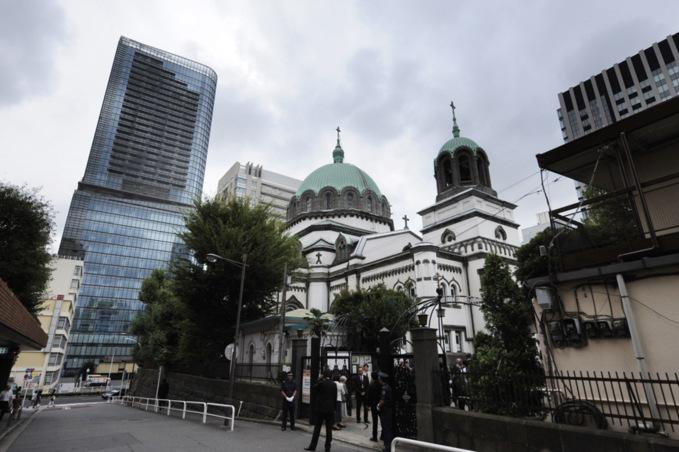 Le patriarche Cyrille de Moscou a célébré la divine liturgie à la cathédrale orthodoxe de Tokyo