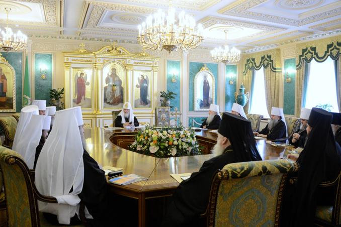 Le Saint-Synode de l'Eglise orthodoxe russe s'est réuni en première session de l'hiver