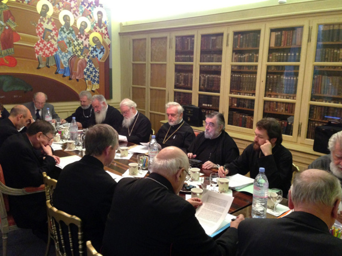 Réunion à Paris du comité de coordination de la Commission internationale mixte pour le dialogue théologique entre les Églises orthodoxes et l'Église catholique