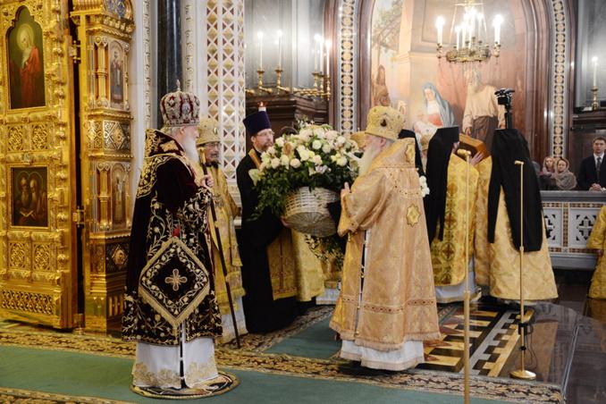 Le patriarche Cyrille fête le quatrième anniversaire de son intronisation au siège de Moscou
