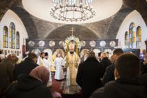 Le métropolite Antoine s'est rendu en visite archipastorale à la paroisse du Saint Séraphin à Montgéron