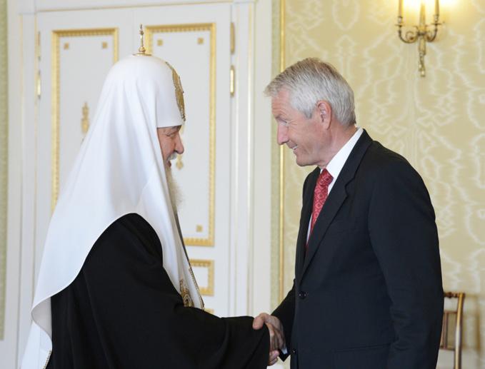 Le patriarche de Moscou ému par les manifestations des millions des Français pour le mariage traditionnel