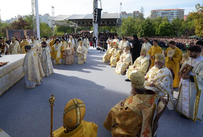 Les Églises orthodoxes célèbrent à Nis, ville d'origine de l'empereur Constantin, le 1700e anniversaire de l'édit de Milan