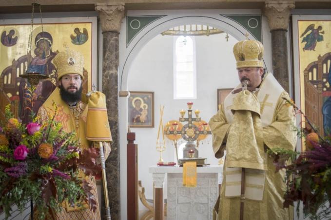 Le métropolite Antoine a présidé les festivités liturgiques à l'occasion de la fête de Synaxe des saints ibériques