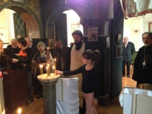 Une célébration du Nouvel an à la Maison de retraite russe de Sainte-Geneviève-des-Bois